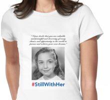 Hillary Clinton #StillWithHer Womens Fitted T-Shirt