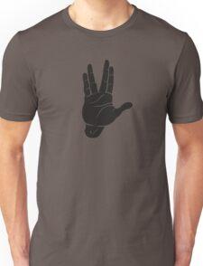 Spocks Hand Galaxy Unisex T-Shirt
