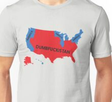 Dumbfuckistan Map Unisex T-Shirt
