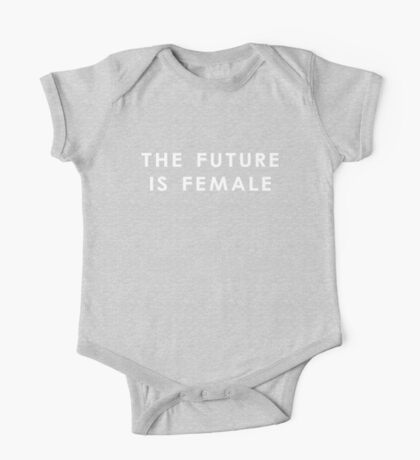 The Future Is Female | Dark One Piece - Short Sleeve