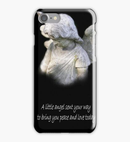 An Angel Blessing iPhone Case/Skin