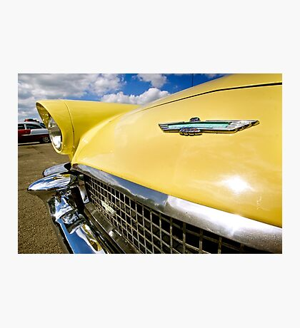 Ford Thunderbird Detail Photographic Print