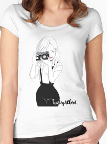 Camera Girl Women's Fitted Scoop T-Shirt