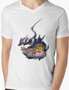 Monster hunter Nargacuga Mens V-Neck T-Shirt