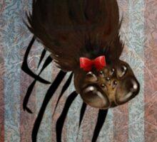 Miss Spider on her own Sticker
