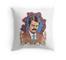 Ron Swanson Throw Pillow