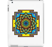 Flower of Life Psychedelic Mandala iPad Case/Skin