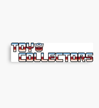 Transformers Toy Collector Logo Canvas Print