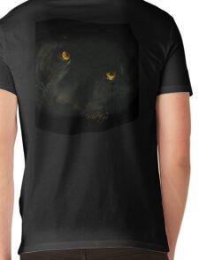 Wild Eyes Series - The American Black Leopard Mens V-Neck T-Shirt