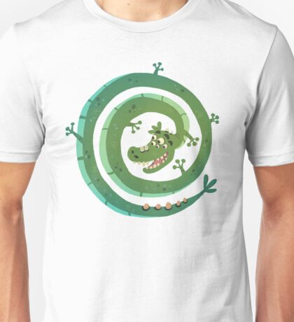 Dragon espiral Unisex T-Shirt
