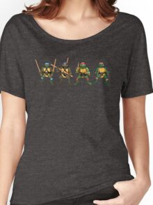 Original Four Playmates Turtles! Women's Relaxed Fit T-Shirt