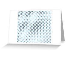 Tardis Travel Pattern Greeting Card