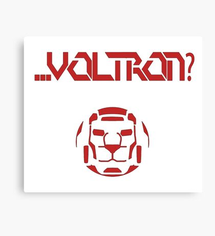 ... Voltron? Canvas Print