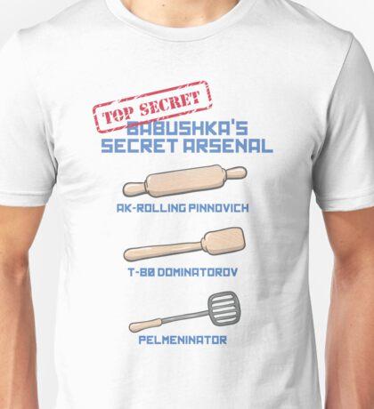 Babushka's Secret Arsenal Unisex T-Shirt