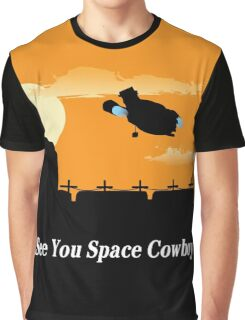 Firefly Serenity X Cowboy Bebop Graphic T-Shirt