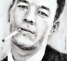 mark wahlberg...pencil by danijelg