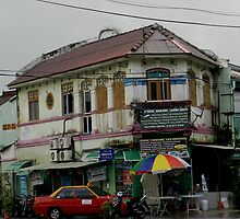 Old Store Penang Malaysia by Sandra  Sengstock-Miller