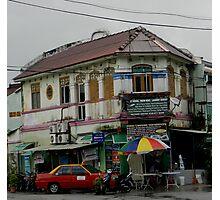 Old Store Penang Malaysia Photographic Print