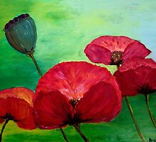 Poppies by AnsDuin
