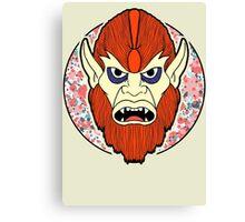 Beastman in colour  Canvas Print