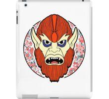Beastman in colour  iPad Case/Skin