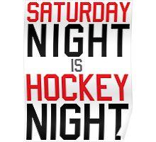 Hockey Night Poster