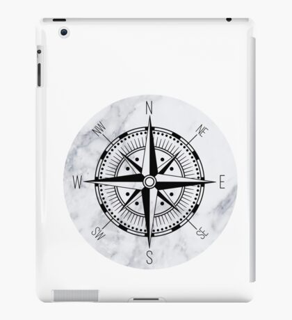Marble Compass iPad Case/Skin
