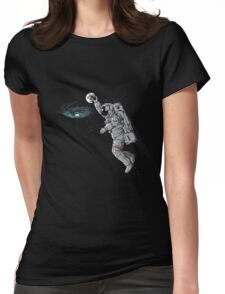 astronaut dunk Womens Fitted T-Shirt