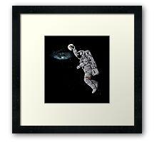 astronaut dunk Framed Print