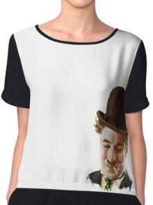 Charlie Chaplin Chiffon Top