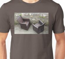 Comfortable Chairs by the Sea Unisex T-Shirt