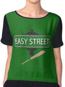 NEGAN EASY STREET !!!!!!!!!! Chiffon Top