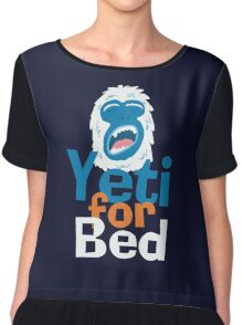Yeti for Bed Chiffon Top