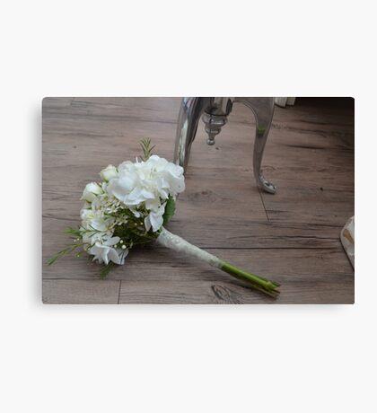 The Bride's Bouquet Canvas Print