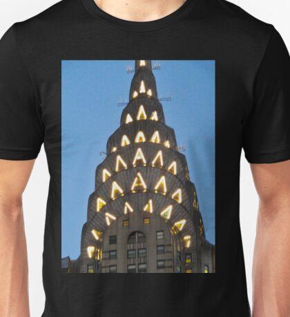 Chrysler Building Lights Unisex T-Shirt