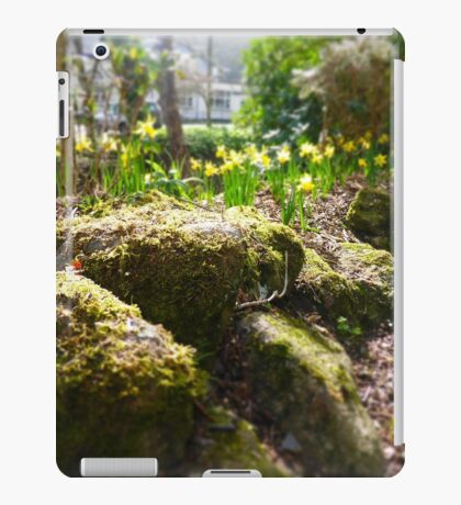 Spring Moss and Daffodils iPad Case/Skin