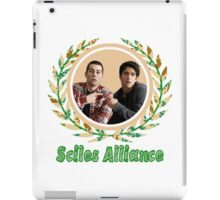 The Sciles Alliance Front/Back]  iPad Case/Skin
