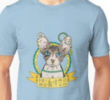 Egyptian Sphinx Cat Illustration Unisex T-Shirt
