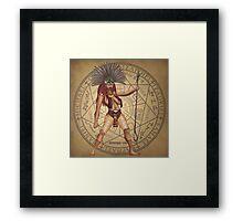 Aztec Goddess Framed Print