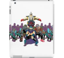 Shredder, Krang, Rocksteady, Bebop, Foot Clan, OH MY!  iPad Case/Skin