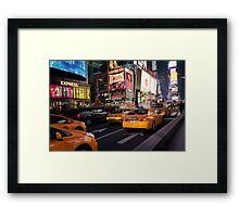 Being Yellow Framed Print