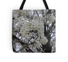 Blossoms Before A Storm Tote Bag