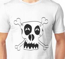 Freehand Funny Skull Unisex T-Shirt