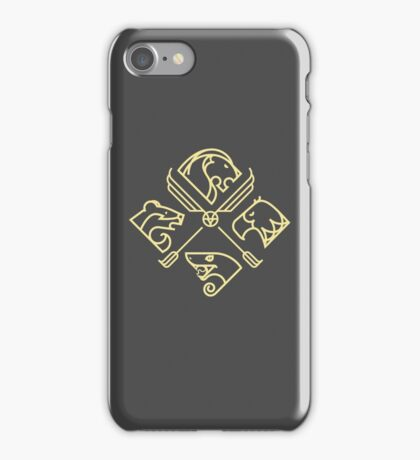 minimal Hogwarts iPhone Case/Skin