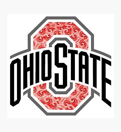 OSU Tie Dye Logo Photographic Print