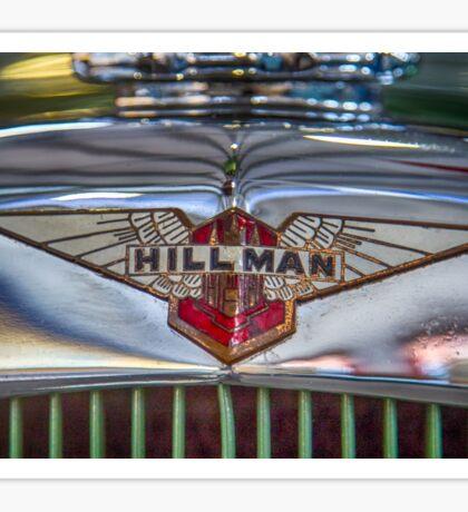 Hillman  Sticker