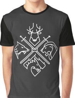 Minimal Thrones Graphic T-Shirt
