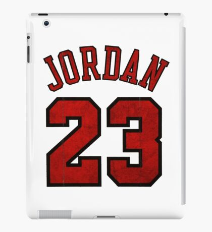 Jordan 23 Worn iPad Case/Skin