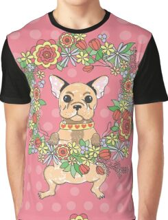 Cute puppy. French bulldog. My lovely.  Graphic T-Shirt