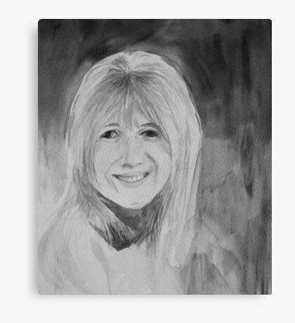 Marianne Faithfull Canvas Print